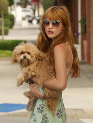 Bella-thorne-Heart-shaped-shades-with-Kingston