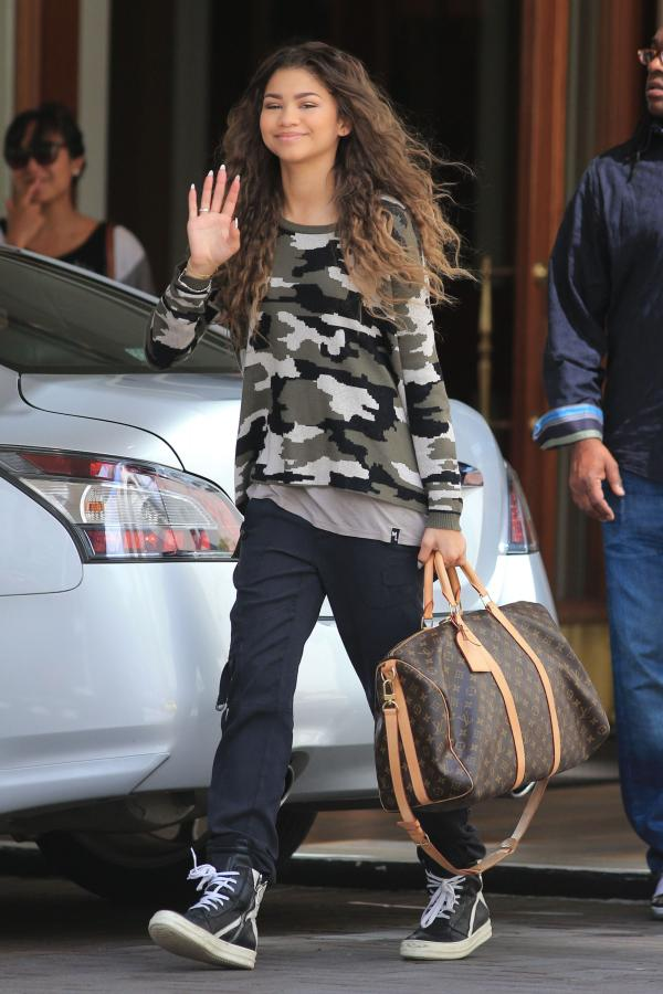 Image - Zendaya-coleman-wavy-hair-army-style-top.jpg | Shake It Up Wiki | FANDOM powered by Wikia