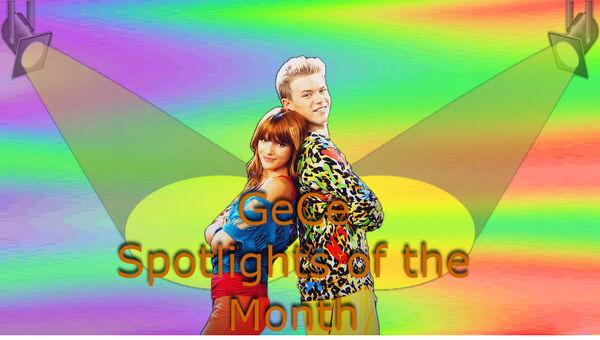 GeCe spotlights of the month banner