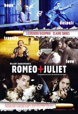 William shakespeares romeo and juliet movie poster
