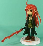 GSI Creos Flame Hair Shana figure Yogasa flame sword