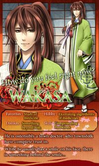 Wakasa character description (1)