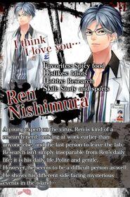 Ren Nishimura character description (1)