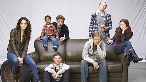 Shameless Season 4 Photo Shoot Behind the Scenes-0