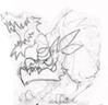 Ice werewolf