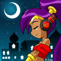 Shantae headphones pic by rongs1234-d31uhmd