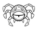 One-eyed spider
