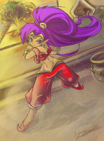 File:Shantae by LunarMew.jpg