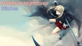 Nightcore - Stitches (Female Version)