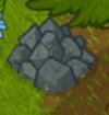 Whackable rock pile