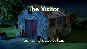 The Visitor title card