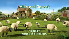 Hide and Squeak title card