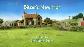 Bitzer's New Hat title card