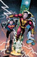 Captain Marvel and Superman Clark Kent-1