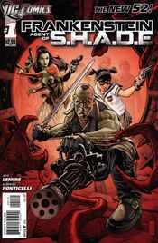 Frankenstein Agent of SHADE Vol 1-1 Cover-2