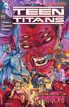 Teen Titans Vol 4-22 Cover-1