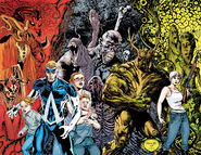 Animal Man Vol 2-12 and Swamp Thing Vol 5-12 Rotworld Crossover Story Arc Teaser