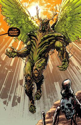 Swamp Thing Alec Holland-6