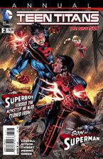 Teen Titans Annual Vol 4-2 Cover-1