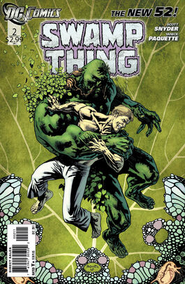 Swamp Thing Vol 5-2 Cover-1