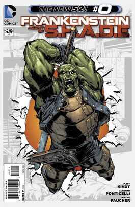Frankenstein Agent of SHADE Vol 1-0 Cover-1