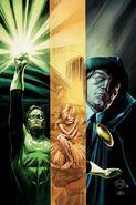 Green Lantern Hal Jordan and The Phantom Stranger