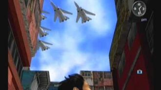 Fighter Jets in Shenmue II