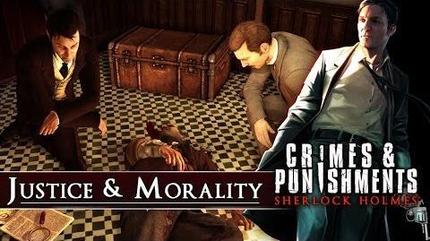 CRIMES & PUNISHMENTS (SHERLOCK HOLMES) JUSTICE & MORALITY