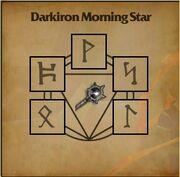 Darkiron Morning Star