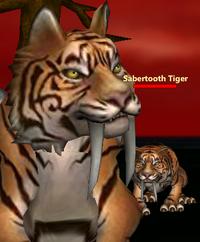 Sabertooth Tiger sol