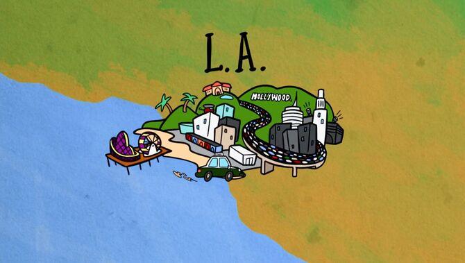 L.A. cartoon