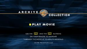 Warner Bros Archives DVD screen