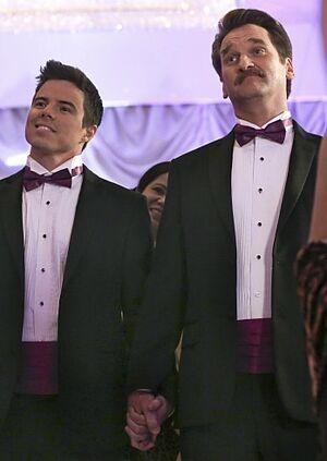 Season One Darryl and White Josh