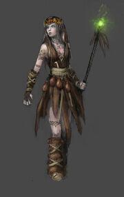 Zena druid