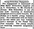 Morning Star.1895-09-21.Knapp-Richardson Engagement.jpg