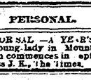 Kansas City Times/1885-08-24/Personal