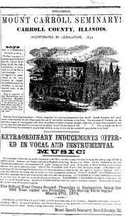 Ackley Independent.1873-12-13.Mount Carroll Seminary
