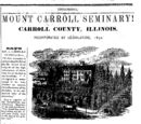 Ackley Independent/1873-12-13/Mount Carroll Seminary