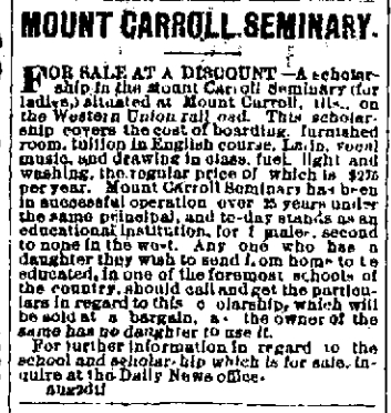 File:Milwaukee Daily News.1877-08-05.Mount Carroll Seminary.jpg