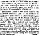 Inter-Ocean/1888-12-28/Endowment of Mt Carroll Seminary