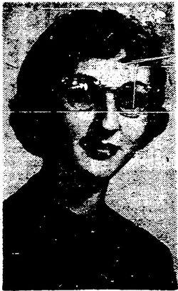 Carol Bruch in 1959