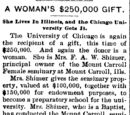 Spencer Herald/1896-01-29/A Womans 250 000 Gift