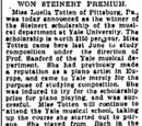 New Haven Register/1900-10-19/Won Steinert Premium