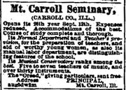 Alton Telegraph.1878-10-03.Mt Carroll Seminary
