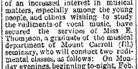 Cedar Rapids Times/1881-02-24/Rudimental Singing Class