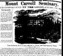 Spirit Lake Beacon/1874-10-22/Mount Carroll Seminary