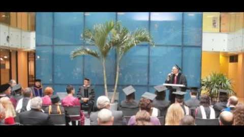 Dean David Shiner's 2010 Commencement Address Pt. 2