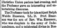 Rockford Gazette/1885-02-25/Sage and Essayist