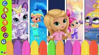Shimmer and Shine Finger Family Nursery Rhymes ◕‿◕ KidsF