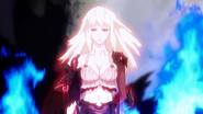 Jeanne turning into a demon
